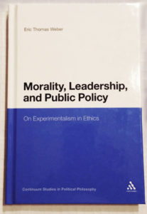 Cover for 'Morality, Leadership, and Public Policy.'