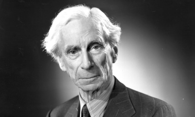 Image of Bertrand Russell from 1951.