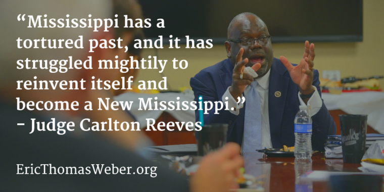 U.S. Judge Carlton Reeves of Mississippi's Southern District Court.