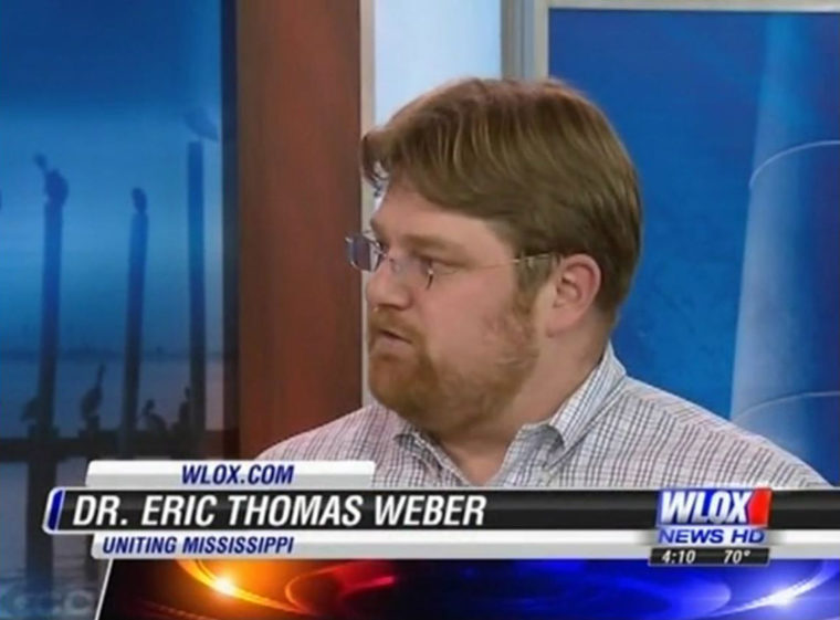 Video of My Interview on WLOX TV News @4 | Eric Thomas Weber