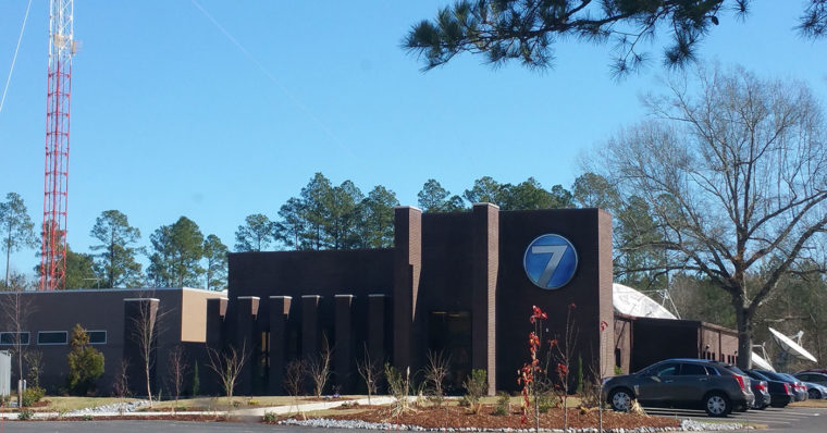 Photo of WDAM TV's studio in Hattiesburg, MS.