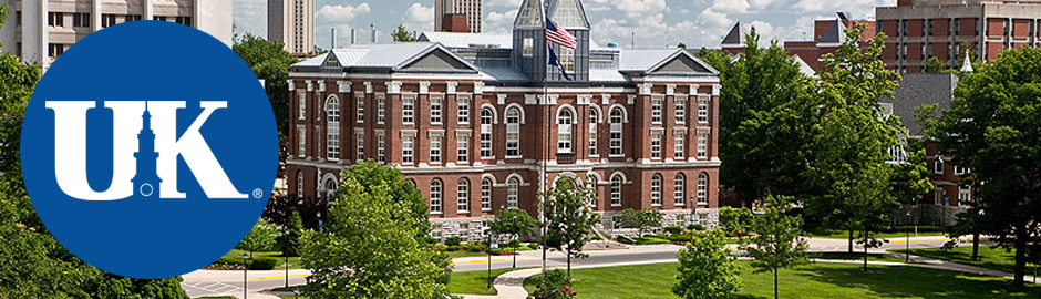 The University of Kentucky, photo of campus.