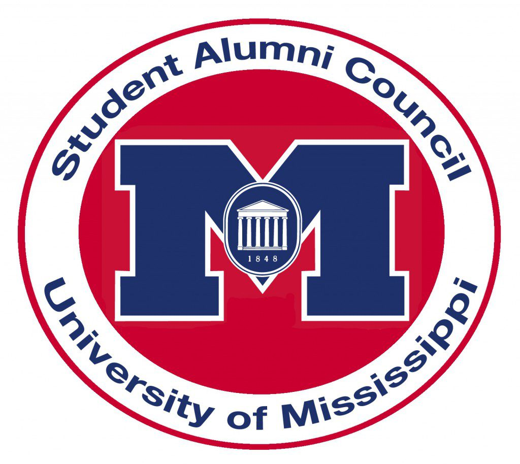 The logo of the University of Mississippi's Student Alumni Council.