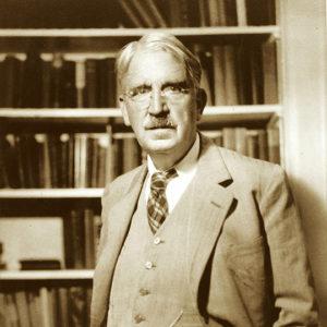 John Dewey, standing.