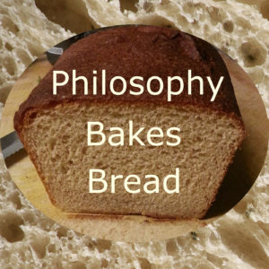 The logo for Philosophy Bakes Bread.