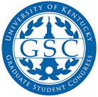 Logo for the Graduate Student Congress at the University of Kentucky.