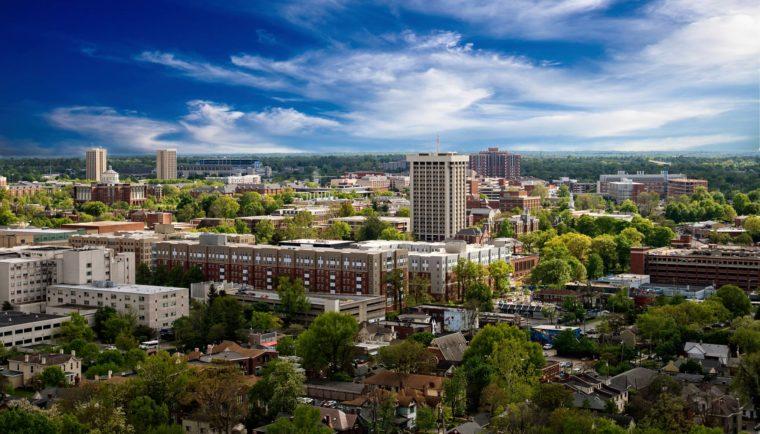 The University of Kentucky.