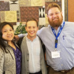 Maria Richie, Andrew Nelson, and Dr. Eric Thomas Weber at the 2019 Midwest Educational Research Association conference in Cincinnati, Ohio.